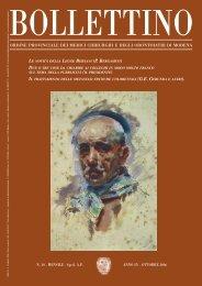 Ottobre 2006 (pdf - 593 KB) - Ordine Provinciale dei Medici ...