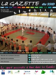 Gazette N°248 - drjscs