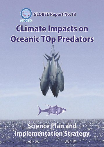 """Climate Impacts on Oceanic TOp Predators (CLIOTOP ... - IMBER"
