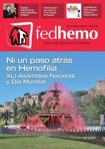 Revista Fedhemo nº 62 - Hemofilia