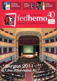 Revista Fedhemo nº 58 - Hemofilia