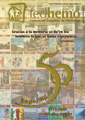 Revista Fedhemo Nº 50 - Hemofilia