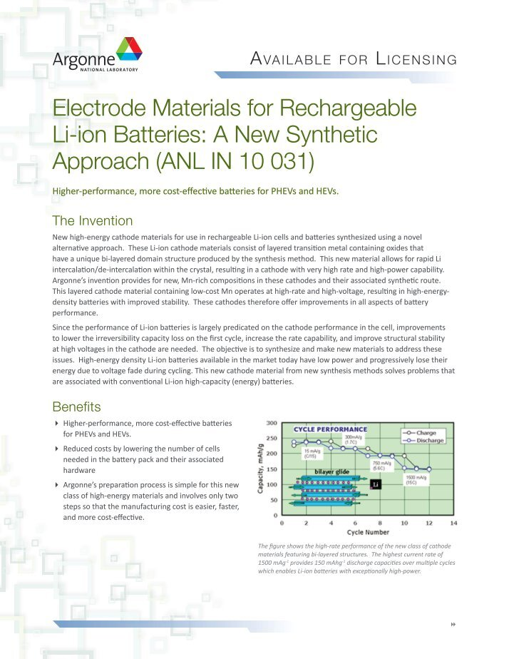 hydrothermal synthesis of a spherical material for a new and durable rechargeable lithium ion batter Facile synthesis of nanostructured lifepo4/c cathode material for lithium-ion batteries 1 c in addition, the hydrothermal synthesis developed in this work is simple and cost-effective, it may provide a new route for production of the lifepo4 material in.