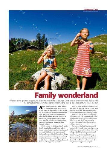 Family wonderland