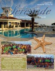 August 2013 - Serenata Beach Club