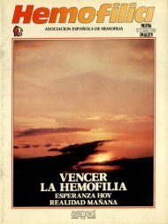 Revista Hemofilia Nº 1