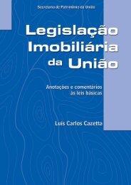 Legislação imobiliária da União - Ministério do Planejamento ...