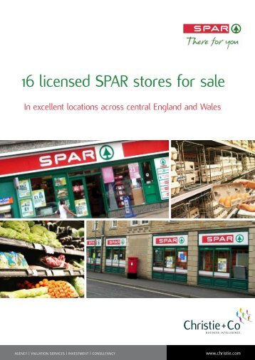 16 licensed SPAR stores for sale - Christie + Co Corporate