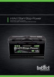 intAct Start-Stop-Power