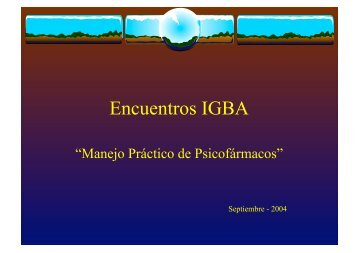 Encuentros IGBA
