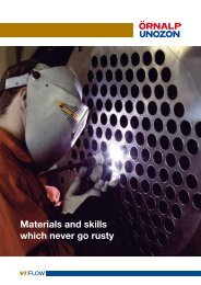 Materials and skills which never go rusty - Örnalp Unozon AB