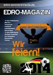 EDRO Magazin 2014 online - EDRO Soccerevents