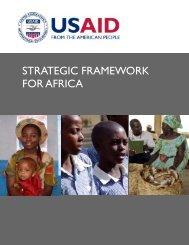 USAID's Strategic Framework for Africa