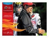 LACROSSE - Coaching Association of Canada