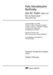 Der 42. Psalnn ' - Carus-Verlag