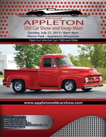 Download The 2013 Program Guide (PDF) - Appleton Old Car Show ...