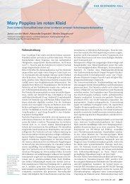 Mary Poppins im roten Kleid - Swiss Medical Forum