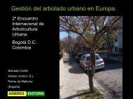Gestión del arbolado urbano en Europa - ISA Hispana