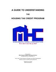 A Guide to Understanding The Housing Tax Credit Program