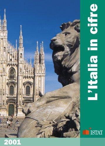 L'Italia in cifre 2001 (pdf) - Istat
