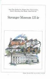 Stavanger Museum 125 år - Museum Stavanger