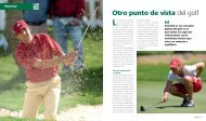 Otro punto de vista del golf - Real Federación Española de Golf
