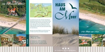 Download Hausprospekt (2 MB) - Hotel Haus am Meer Graal-Müritz ...