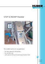 STEP SCREEN® Flexible - brochure english
