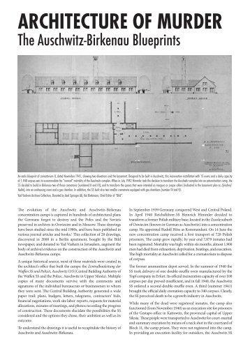 ARCHITECTURE OF MURDER - Holocaust Education Trust Ireland