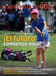 Arranca la nueva temporada - Real Federación Española de Golf