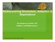 Rediscovering Alcoholism, Addiction & Dependence - Ireta