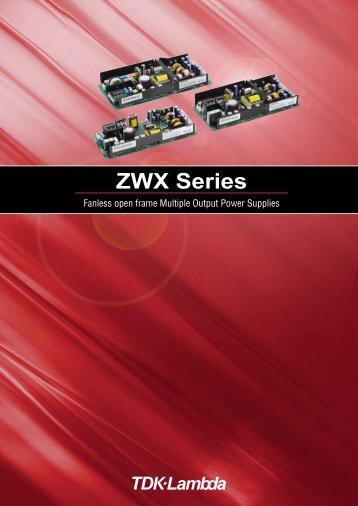 ZWX Series - TDK-Lambda