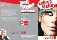 Folder lehre mit Matura 2012.indd - AK Burgenland - Arbeiterkammer