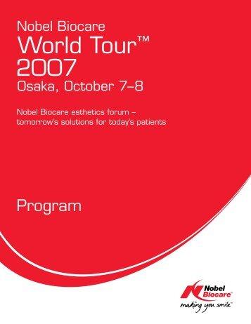 WT07 Program_USletter.indd - Nobel Biocare