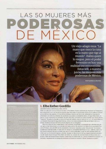 Las 50 mujeres más poderosas de México - Softtek