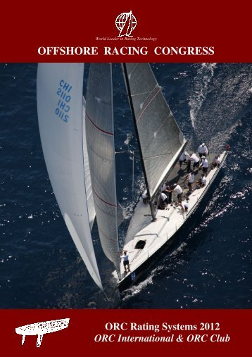 ORC Rating Systems 2012 - Offshore Racing Council