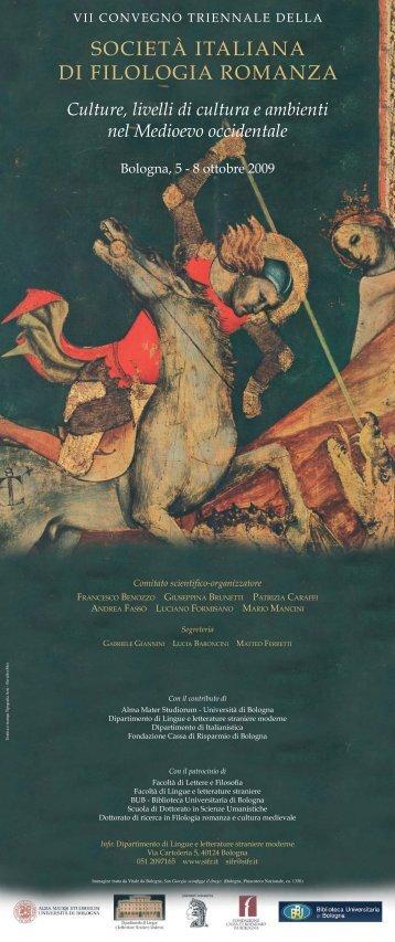 Programma dell'evento - Itinerari Medievali