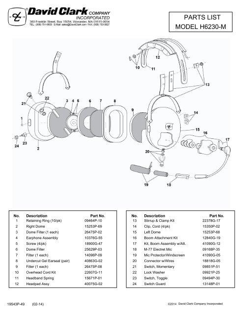 David Clark Headset Wiring Diagram from img.yumpu.com