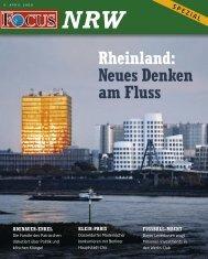 Rheinland: Neues Denken am Fluss - FOCUS MediaLine