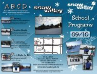 A B C D - Snow Valley