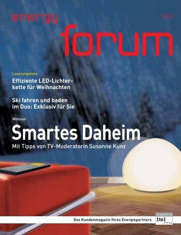 energy forum»-Winterangebote: Schn