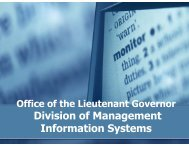 Division of Management Information Systems