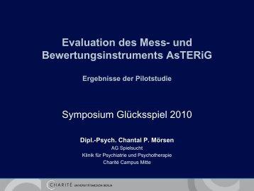 Evaluation des Mess- und Bewertungsinstruments AsTERiG