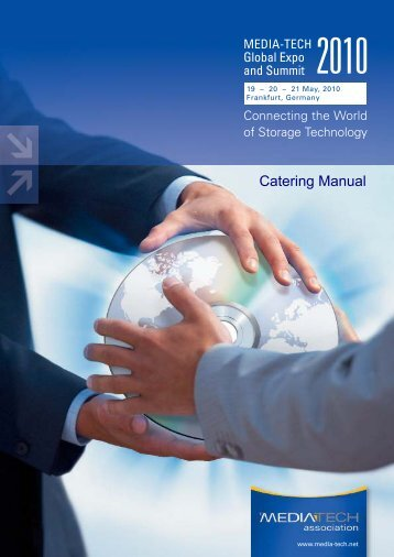 Catering Manual - Media-Tech Association