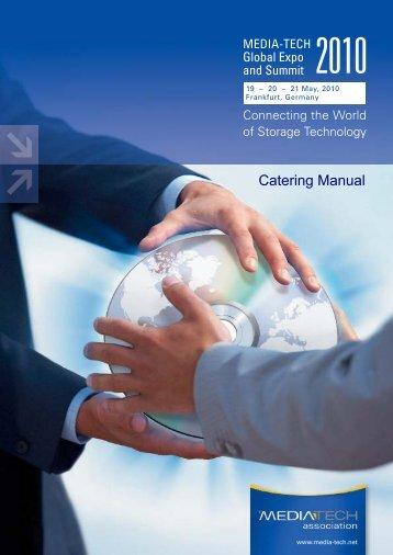 Catering Manual - Media-Tech Association