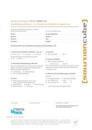 Anmeldung zur binea 11. + 12. Februar 2011 bitte bis 13. August 2010