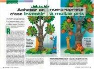Le Particulier Immobilier de octobre 2011 - Haussmann Patrimoine