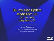 Blu-ray Disc Update MediaTech 06 Blu-ray Disc Update MediaTech 06