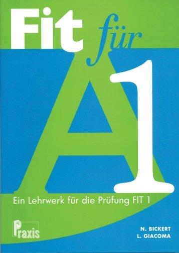 Fit fur A1 - Kursbuch.pdf - Praxis