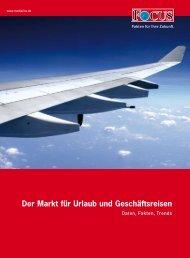 Der Markt für Urlaub und Geschäftsreisen - FOCUS MediaLine